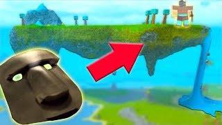 TAKING OVER FLOATING ISLAND & DEFEATING THE GOD! (ROBLOX: Booga Booga 4)