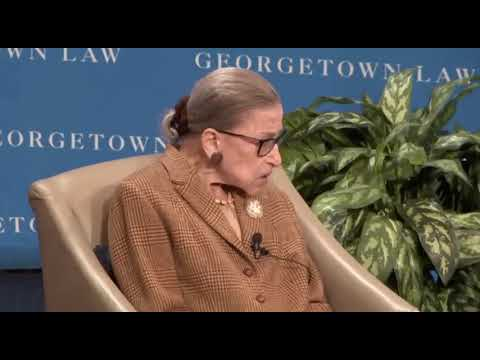 Justice Ruth Bader Ginsburg Would Like 'New Beginning' & 'Start Over' On Equal Rights Amendment - YouTube