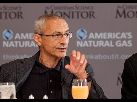 Christian Science Monitor Breakfast with Podesta