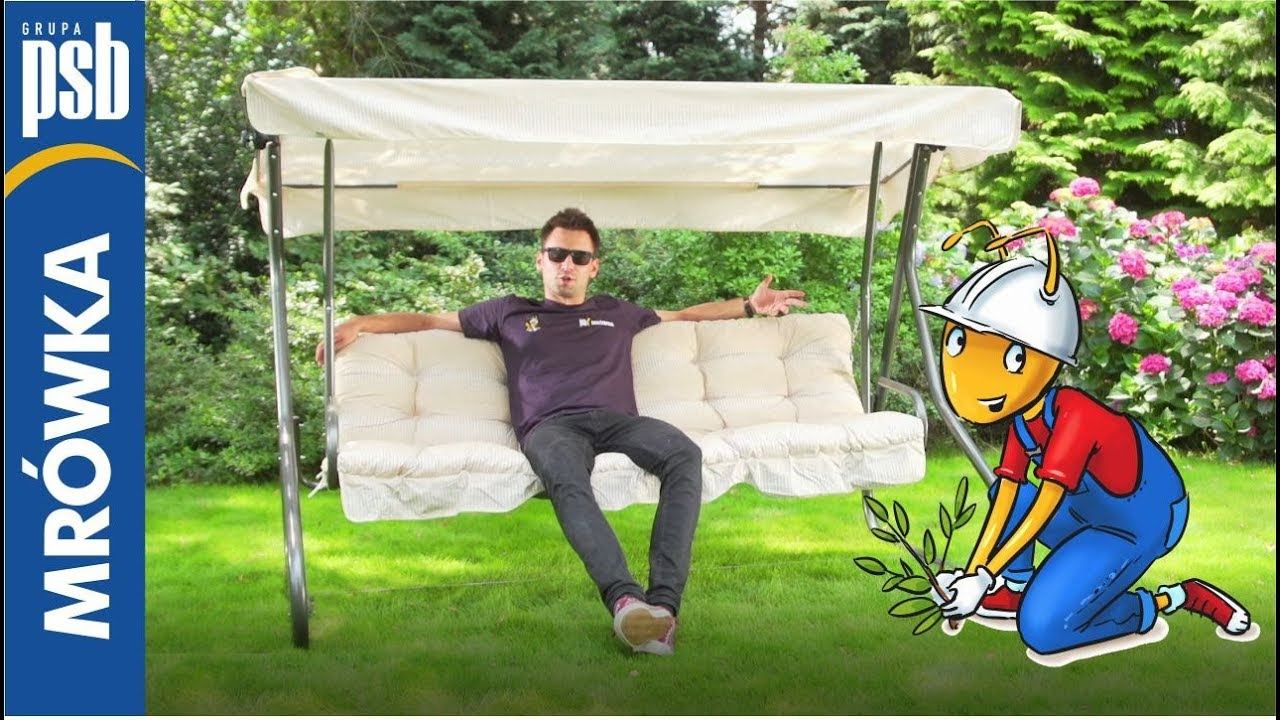 Funkcjonalne Meble Ogrodowe Huśtawki Stoliki Krzesła Hamaki
