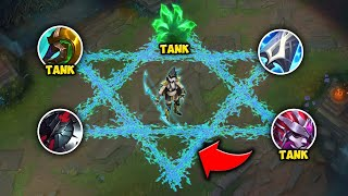 YOU CAN'T KILL TANK ASHE TOP! BECOME A LEGIT LANE BULLY - League of Legends