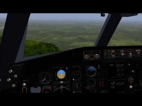 767-300 test flight from CYQB to CYYZ (Quebec to Toronto) [Flightgear 3.6]