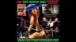 Post Mortem e082 - Sexual Stroganoff (Top 5 Awkward Boners in Horror Movies)