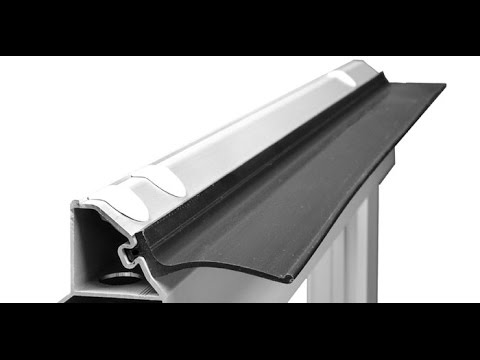 Hormann Garage Door Top Seal Youtube