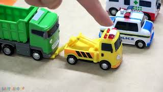 Tayo the little bus in real life! tayo, max unexpected accident, max dump truck be careful