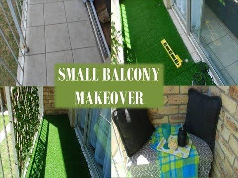 SMALL BALCONY MAKEOVER | DECORATING TIPS 2019