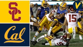 USC vs Cal Highlights | Week 12 | College Football | 2019