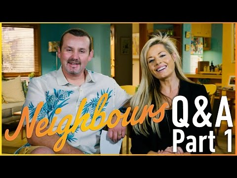 Ryan Moloney (Toadie Rebecchi) and Madeleine West (Dee Bliss) Q&A Part 1