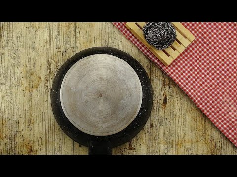 How to clean a burnt pan: a cheap and incredible method!