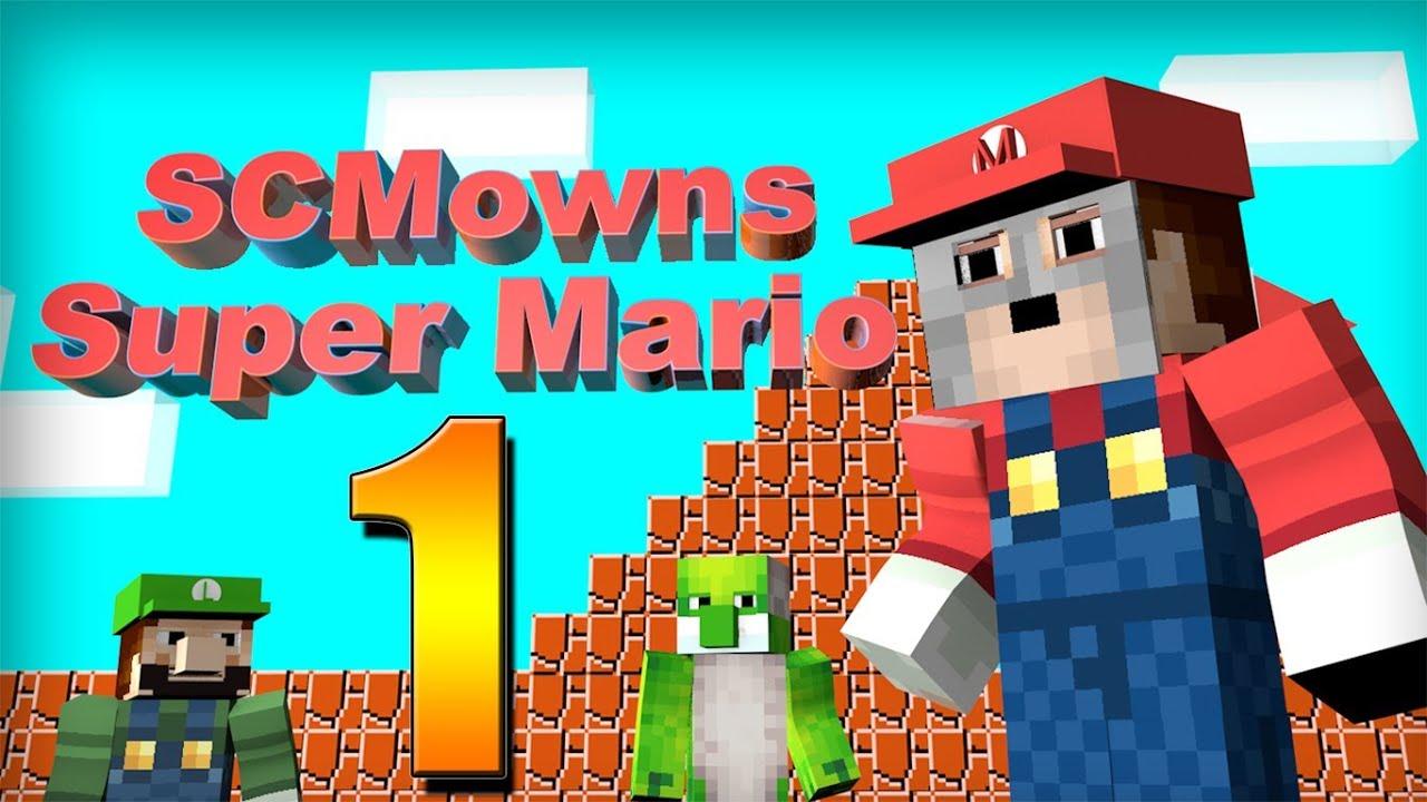 Minecraft Super Mario Bros Minigame Part YouTube - Minecraft mario spiele