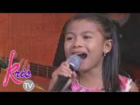 """Lyca sing """"Ikot-ikot Lang"""" on Kris TV"""