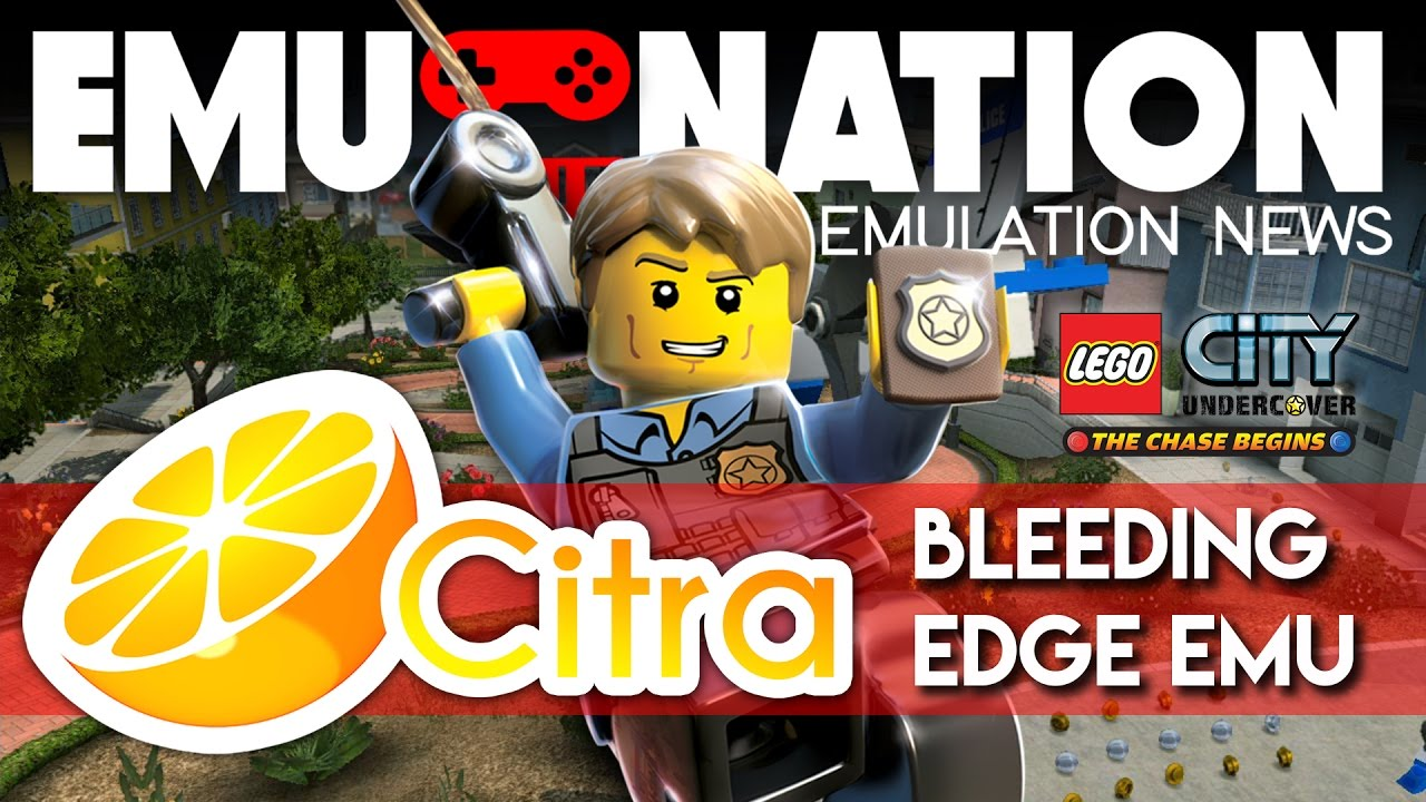 EMU-NATION: Lego City Undercover 3DS Playing on the Citra Emulator!