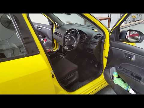 how to remove and install a aftermarket head unit into a Suzuki swift 2012