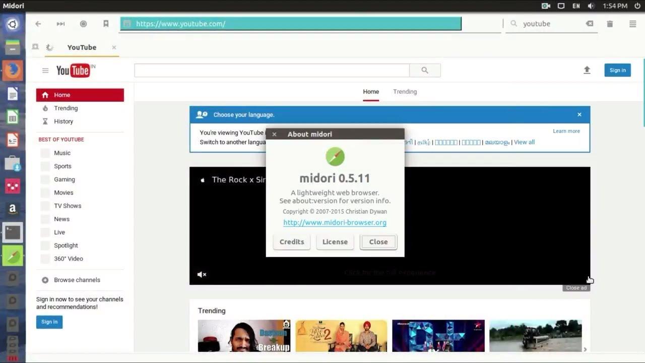 How to Install Midori Web Browser on Ubuntu 16 04