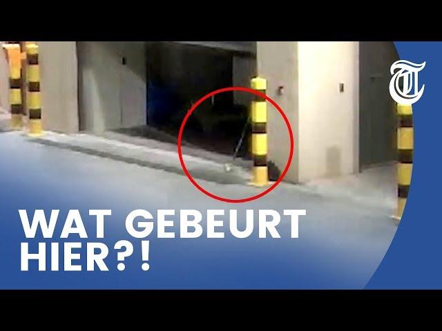 Bizar: spook gefilmd op politiebureau