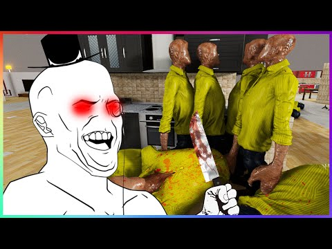 THE STAFF MASSACRE OF 2019!🔪SCP-3008 100% Complete [#6]