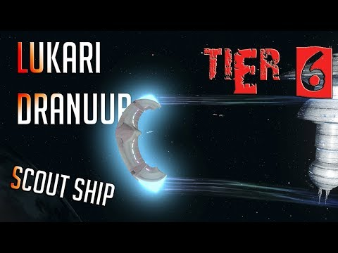 Lukari Dranuur Scout Ship [T6] – with all ship visuals - Star Trek Online