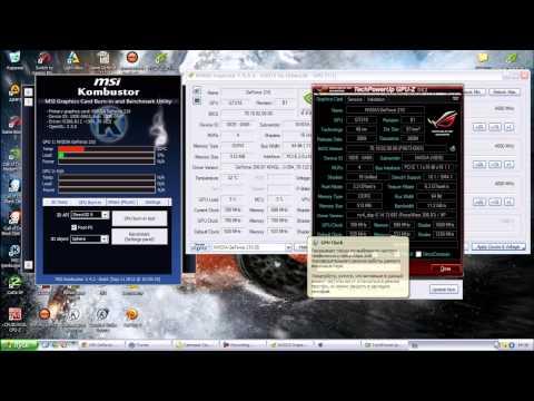 Разгон видеокарты Geforce 210