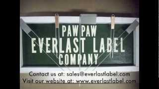 Paw Paw Everlast Label Introduction