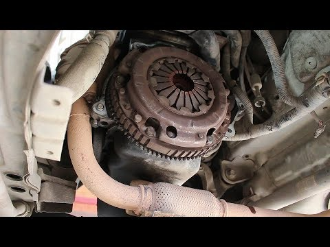 Как заменить сцепление на Daewoo Matiz Дэу Матиз 0,8 2011 года 1часть