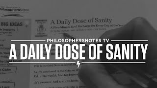 A Daily Dose of Sanity by Alan Cohen Thumbnail