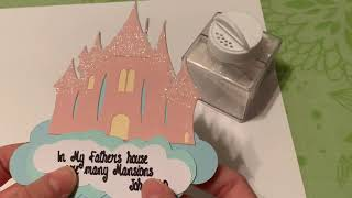 ScriptureSparrow Castle of Many Mansions craft cut and assembly