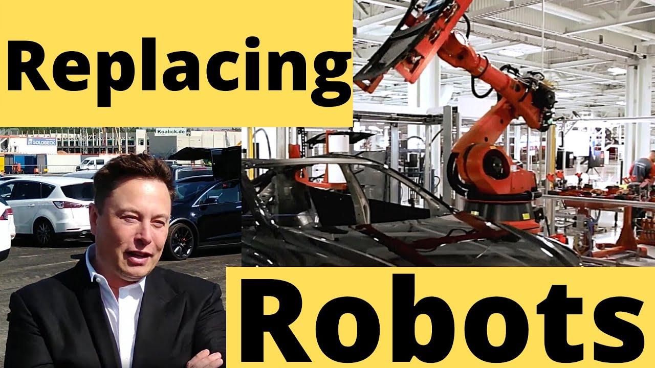 Tesla Giga Berlin Abandoning Hundreds of Robots for Casting Machines