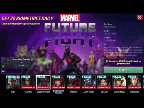 Marvel Future Fight Part 2 - Apparently There Was A Boycott and I Didn't Get The Memo