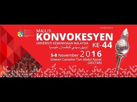 SIARAN LANGSUNG SIDANG 1 MAJLIS KONVOKESYEN UKM KE-44 - 5 Nov 2016