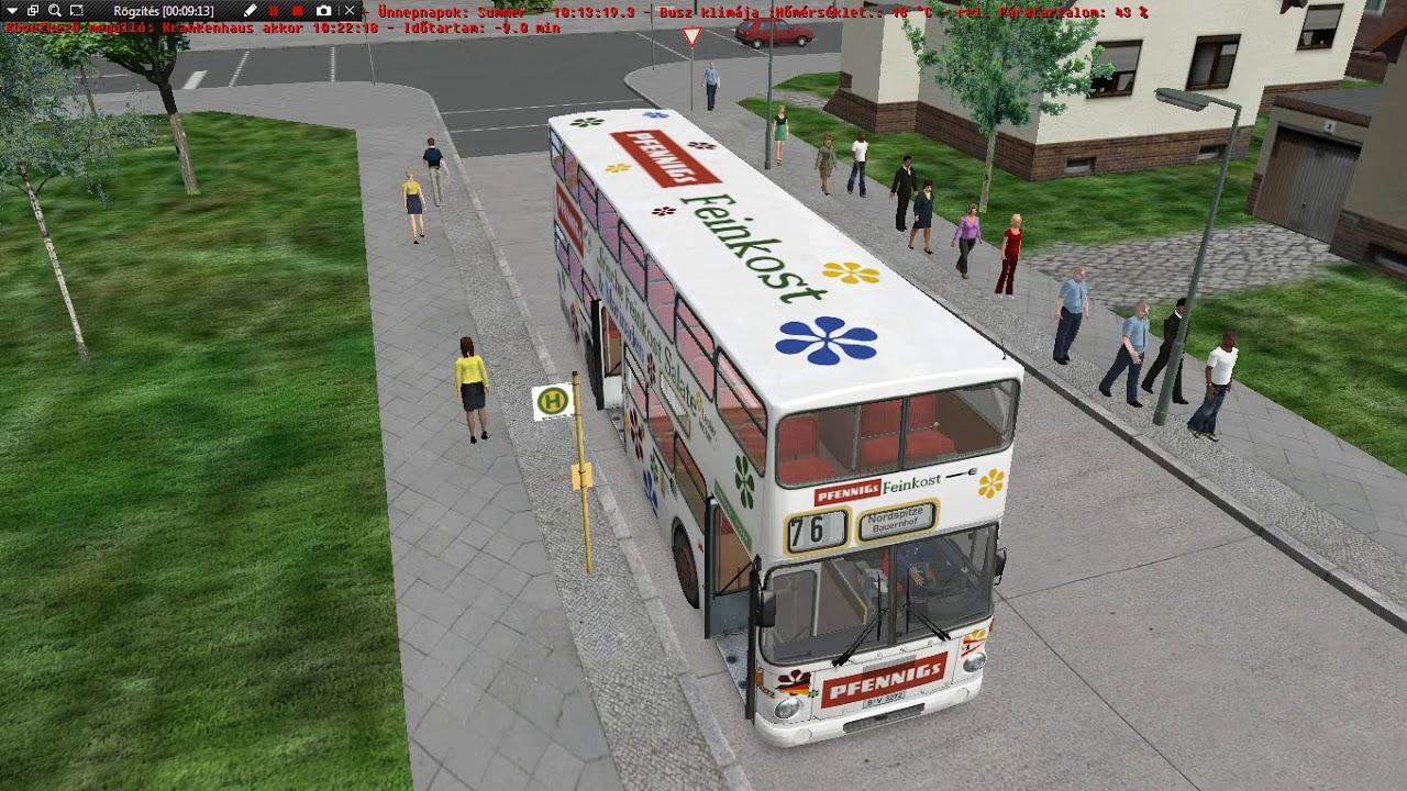 omsi bus simulator manual door mod