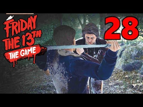 [28] Betraying The Team, For A Worthy Cause! (Let's Play Friday The 13th The Game)