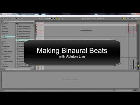 Creating Binaural Beats with Ableton Live