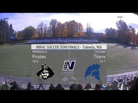 WSOC: Tacoma vs Peninsula - NWAC Championships Semi-Final
