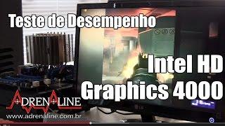 Teste de desempenho em games com o Intel HD Graphics 4000