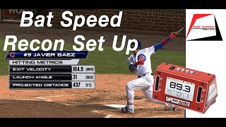 How to set up the Bat Speed Recon for overload/underload bat speed training