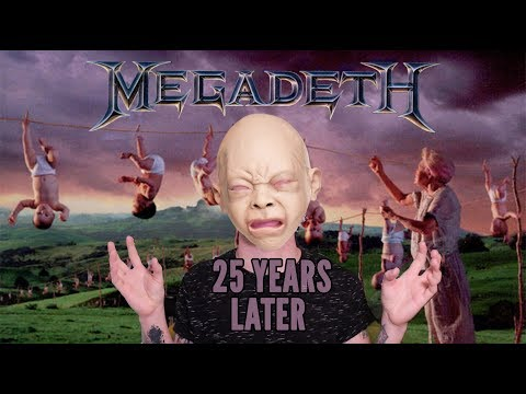 "MEGADETH's ""Youthanasia"" Turns 25 Years Old 