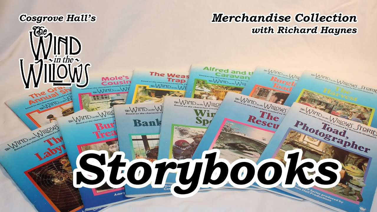 Storybooks (Merchandise of Cosgrove Hall's 'The Wind in the Willows')