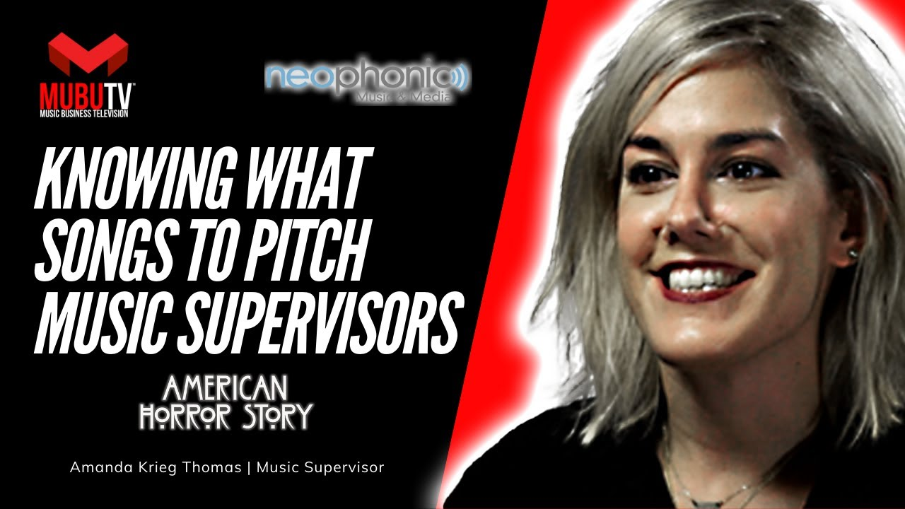 How to Know What Songs to Pitch to Music Supervisors - Amanda Krieg Thomas  - MUBUTV: Insider - SE  8