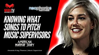How to Know What Songs to Pitch to Music Supervisors - Amanda Krieg Thomas - MUBUTV: Insider - SE. 8