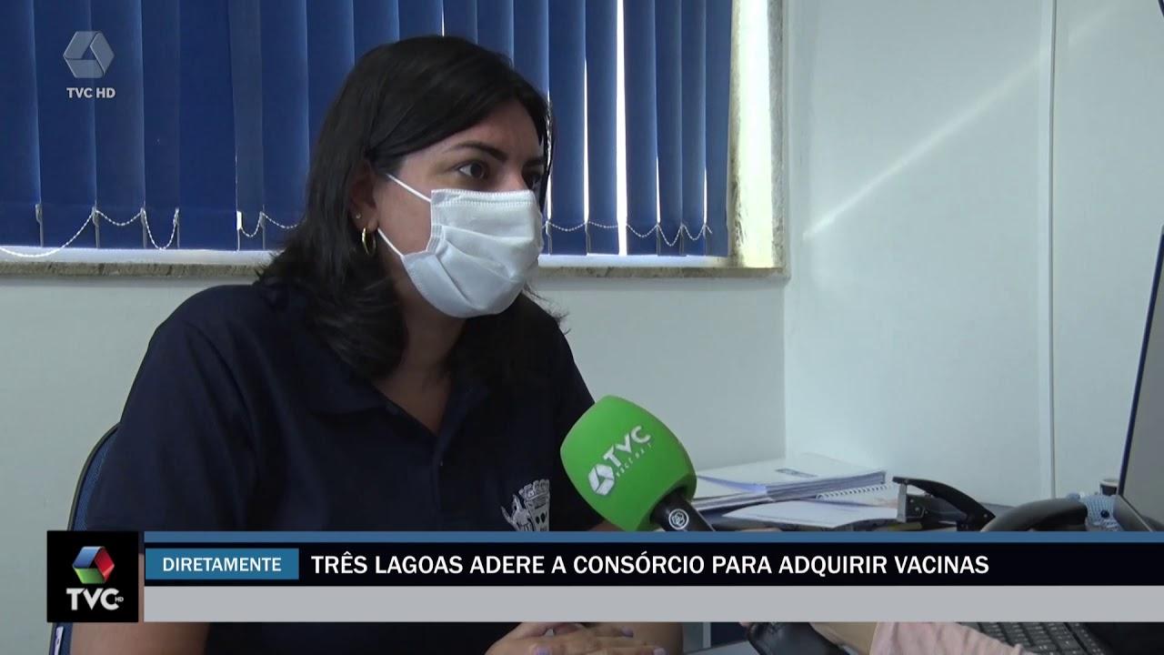 Três Lagoas adere a consórcio para adquirir vacinas contra covid 19
