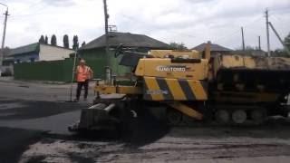 Ремонт дороги в микрорайоне Козловка