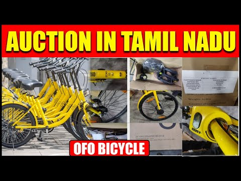 OFO Bicycle Auction   Auction In TamilNadu   Buy Goods From Customs Auctions   Dheeraj Panday thumbnail