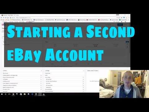 Drop Shipping eBay - Starting a Second eBay Account