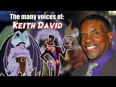 Many Voices of Keith David (Gargoyles ... Princess and the Frog ... AND MORE!)
