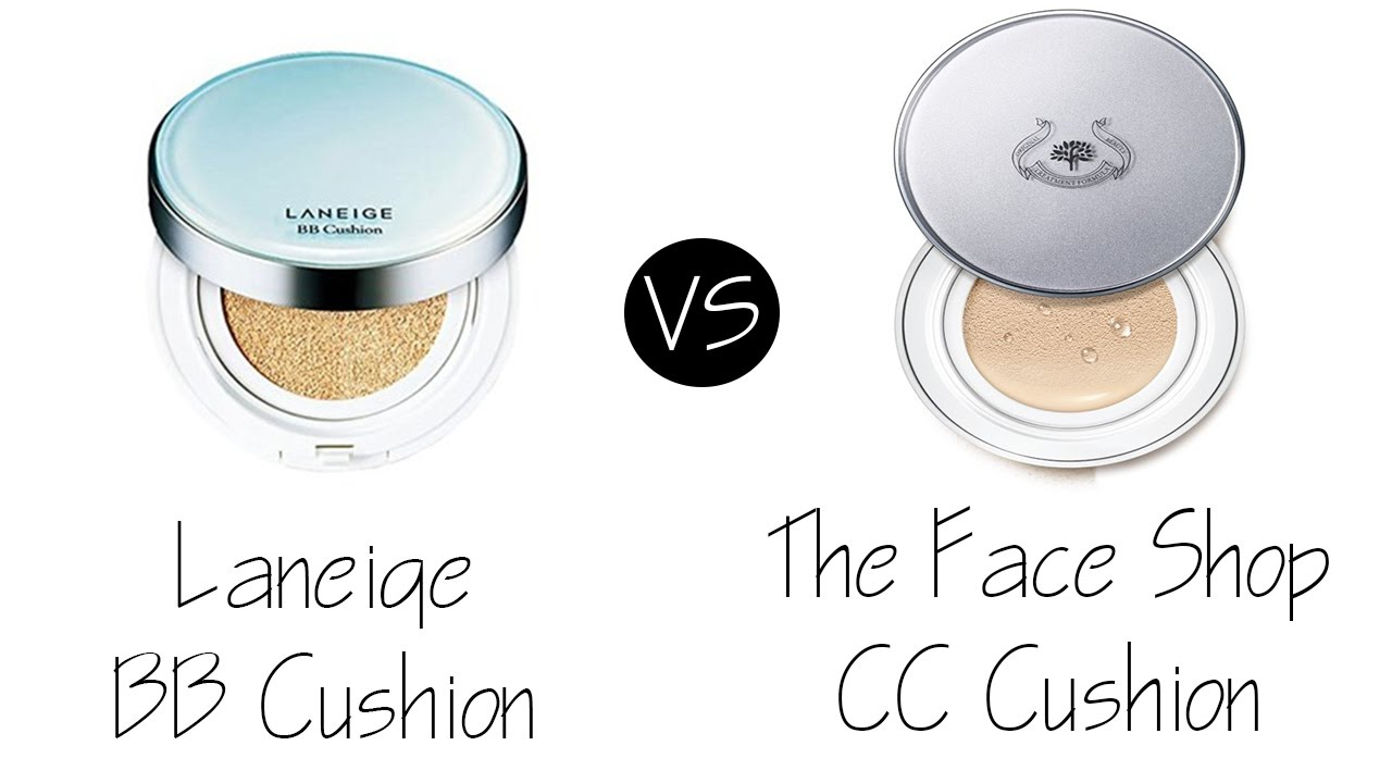 Laneige bb cushion vs the face shop cc cushion youtube for Bb shop