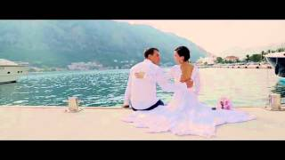 Wedding in Montenegro. Свадьба в Черногории Анастасия и Владими