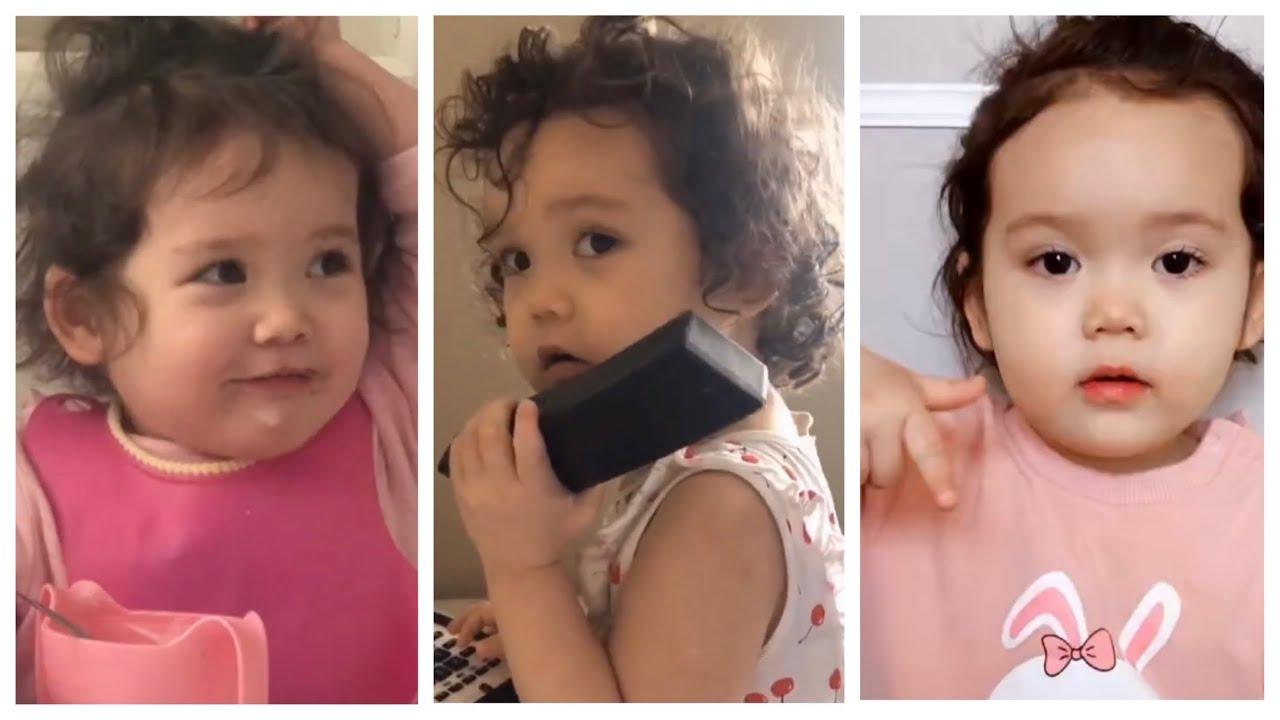 #funny#cute#baby  Funny and cute baby best videos compilation #4 小網紅GeoGeo精彩萌爆瞬間