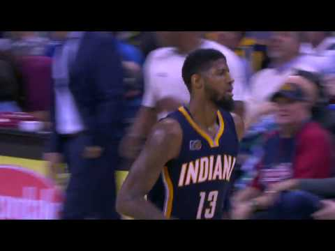 Paul George Drops 43 LeBron Answers with 41 Points in Cleveland! | April 2,2017