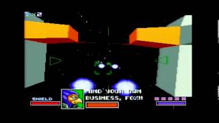 Star Fox SNES Course 3 Part 2: Asteroid Belt--Laughing Asteroids?