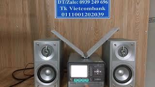 Dàn mini Panasonic X400 CD/SD/HDD